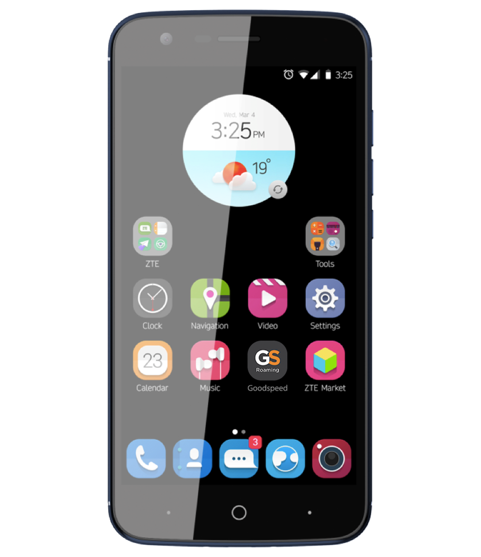 ZTE Blade V8 Lite<br>with Goodspeed Roaming App