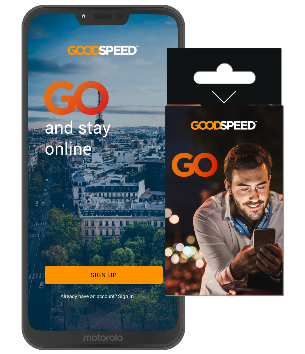 Goodspeed GO Starter Pack with Global SIM