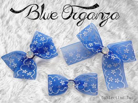 Blue Organza (Collection Two)