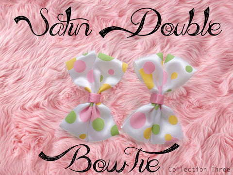 Satin Double BowTie (Collection Three)