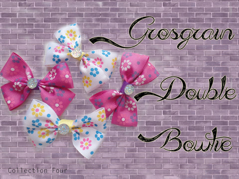 Grosgrain Double BowTie (Collection Four)