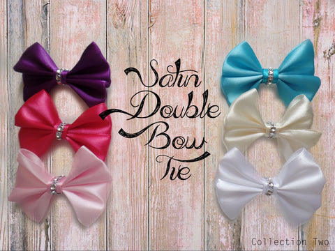 Satin Double Bow Tie (Collection 2)