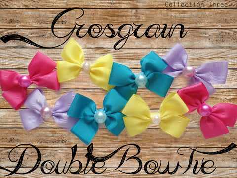 Grosgrain Double BowTie (Collection Three)