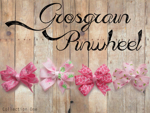 Grosgrain Pinwheel Collection 1