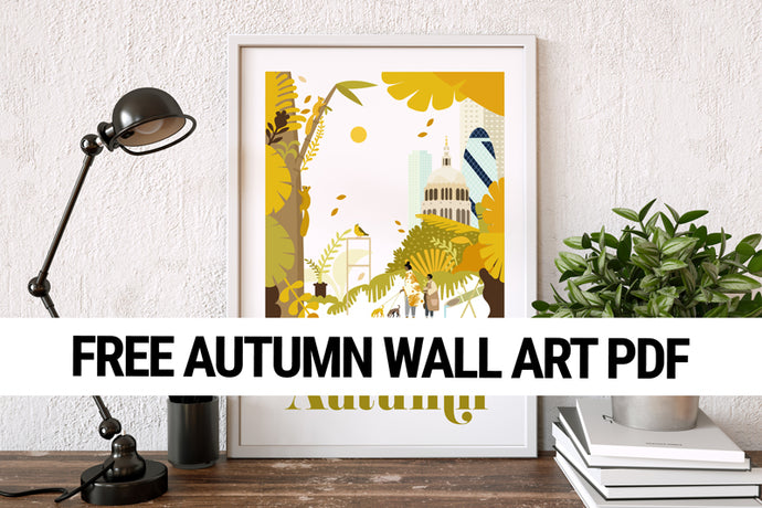 Autumn Wall Art