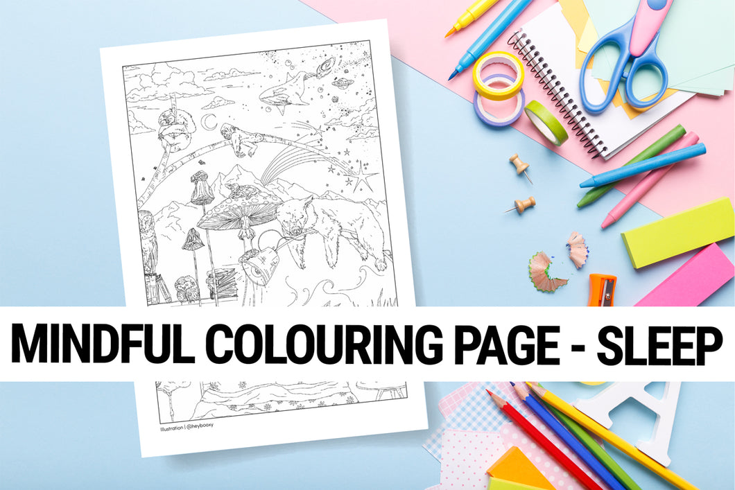 Mindful colouring