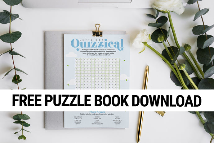 Puzzle Book with Answers
