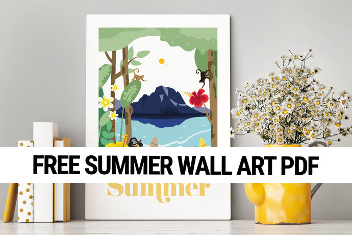 Summer Wall Art