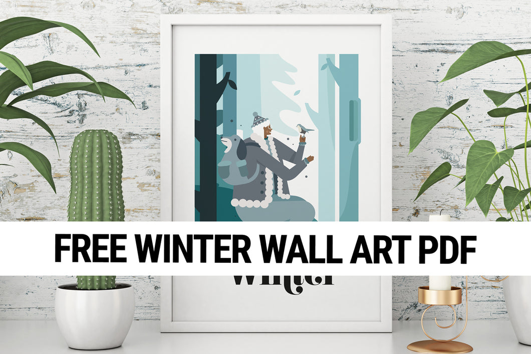 Winter Wall Art
