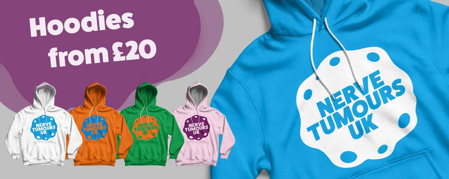 Nerve Tumours UK Hoodie Collection