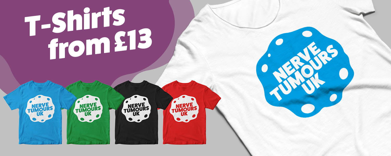 Nerve Tumours UK T-Shirt Collection