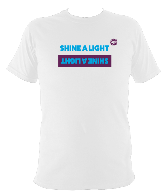 Children's Unisex Shine a Light T-Shirt Design A 2019