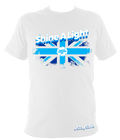 Large Union Jack Shine A Light Fitted (#StaySafe) T-Shirt - Children's