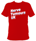Nerve Tumours UK NEON Logo T-shirt