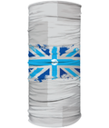 Nerve Tumours UK Multi Use Headband/ Face Covering Union Jack-grey blocks
