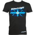 Large Union Jack Shine A Light Fitted (#StaySafe) T-Shirt - Men's