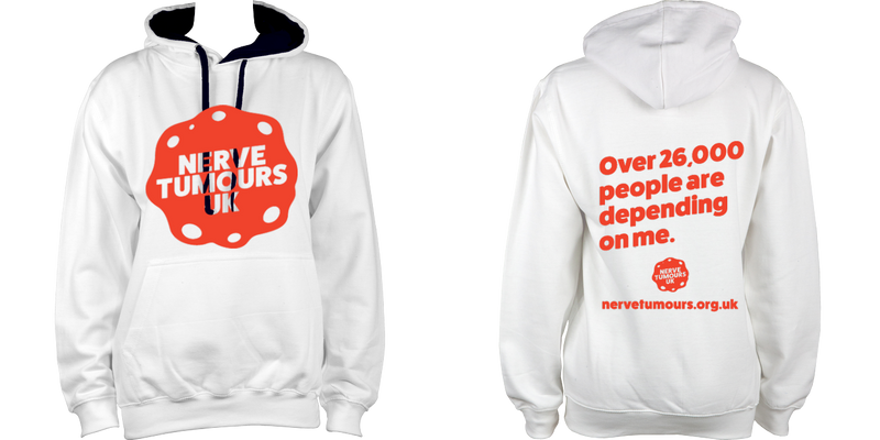 Womens Hoodie (Orange Logo)