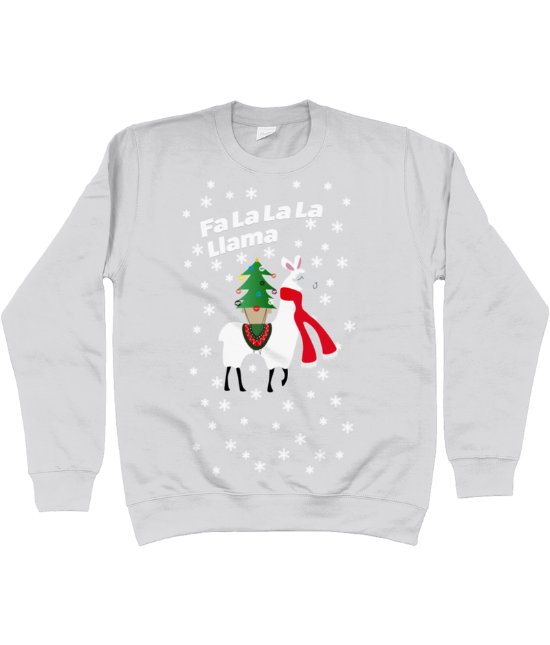 Fa La La Lama Adults Unisex Christmas Jumper