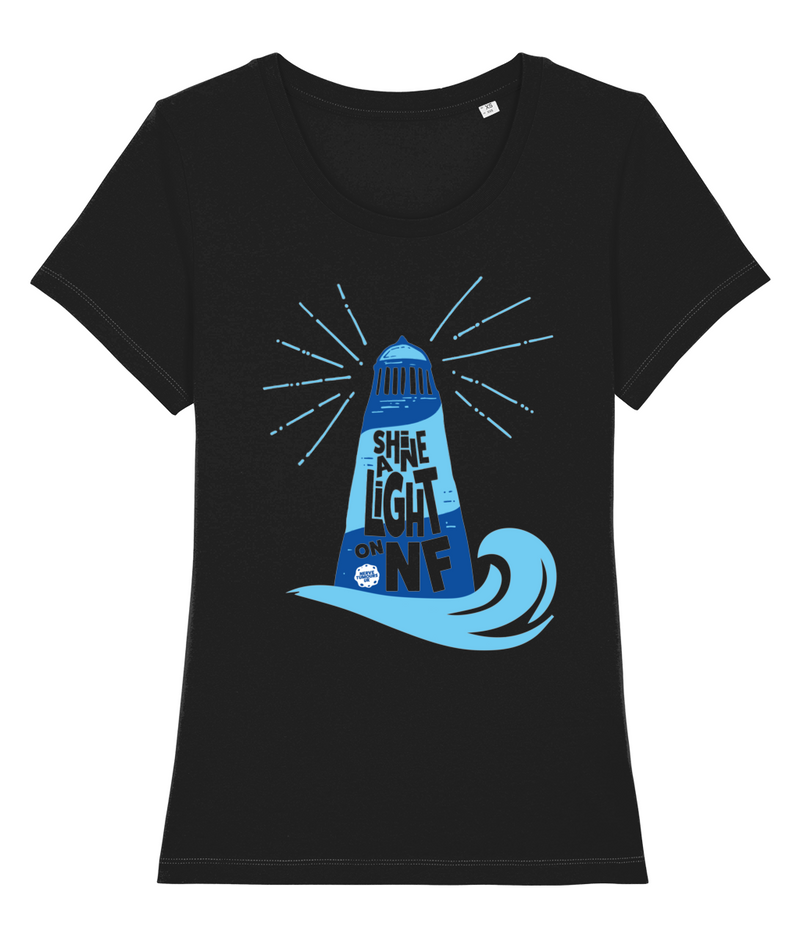 Shine A Light on NF Lighthouse T-shirt - Women's