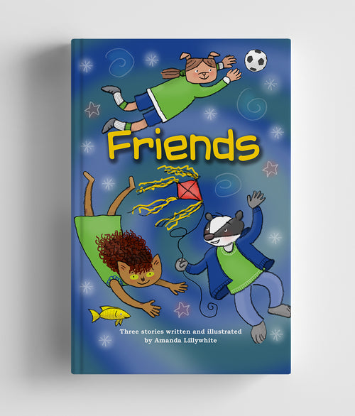Friends Book - The Windiest Playground in the world, Rovertown Dynamos vs. Mogford Juniors & The Missing Fish