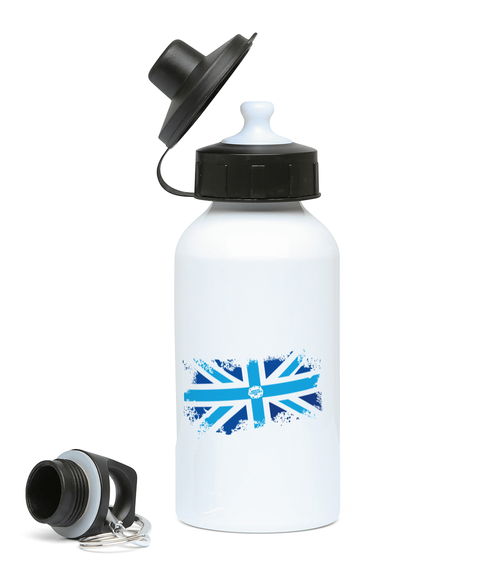 Nerve Tumours UK Union Jack Sports Water Bottle 400ml