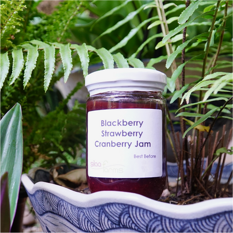 Blackberry Strawberry Cranberry Jam