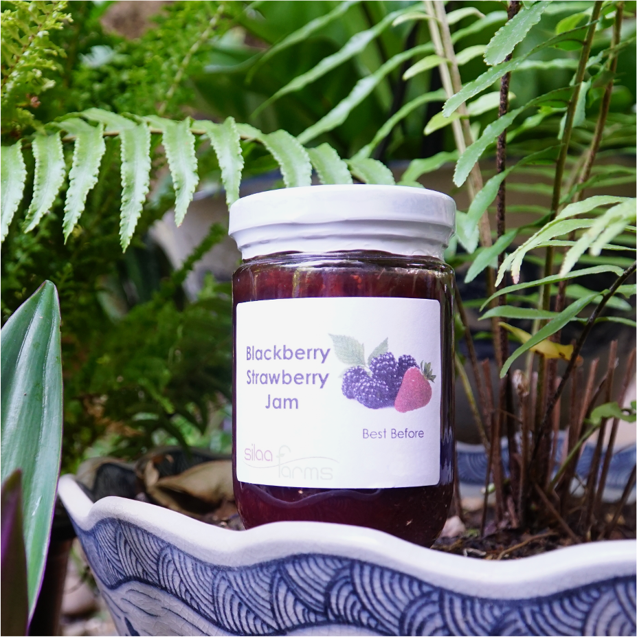 Blackberry Strawberry Jam