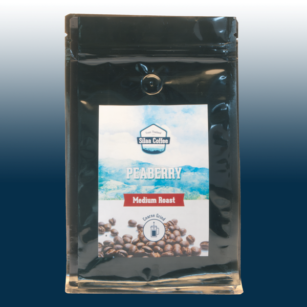 Peaberry Medium Coarse Grind