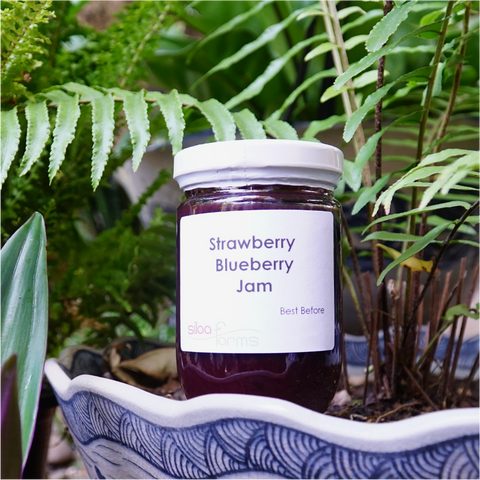 Strawberry Blueberry Jam