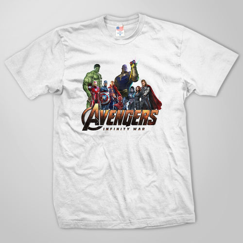Avengers Infinity War Team T-Shirt