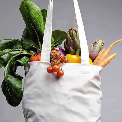 vegan shopping bag
