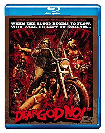 Dear God No! Blu-ray