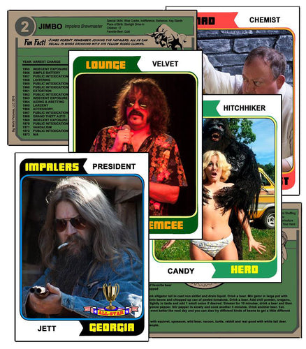 Frankenstein Created Bikers Trading Cards