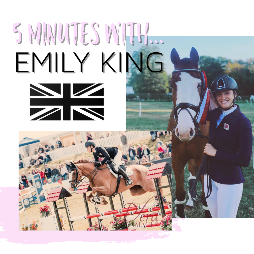 5 minutes with... Emily King