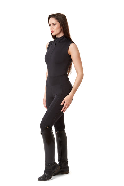 Sleeveless Base Layer - Black