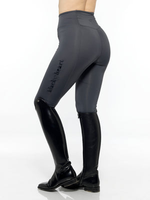 Flex Riding Leggings - Charcoal