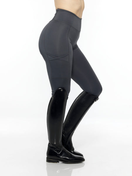 equestrian charcoal leggings