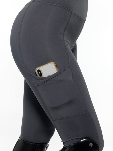 charcoal leggings with a pocket