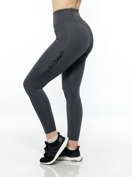 high waisted charcoal leggings