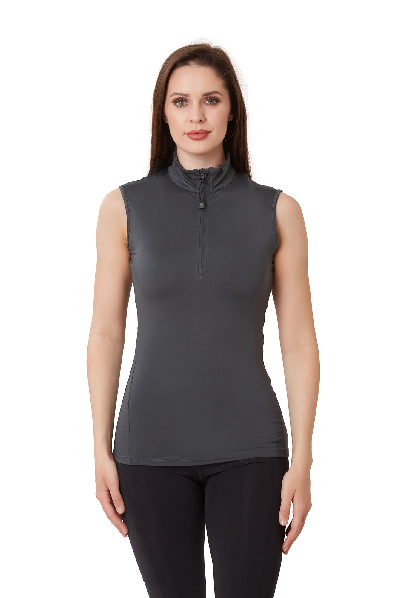Sleeveless Base Layer - Charcoal