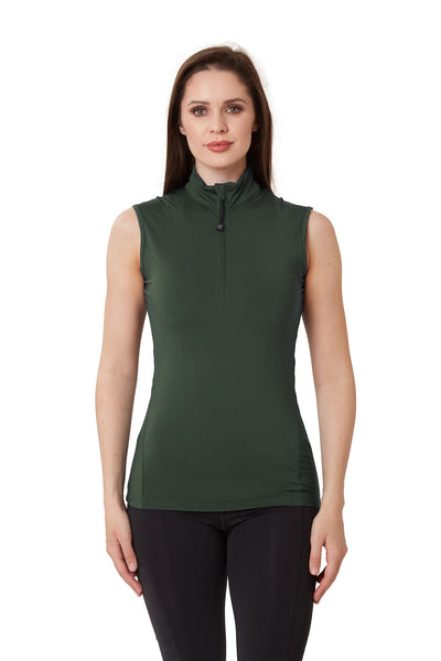 Sleeveless Base Layer - Forest Green