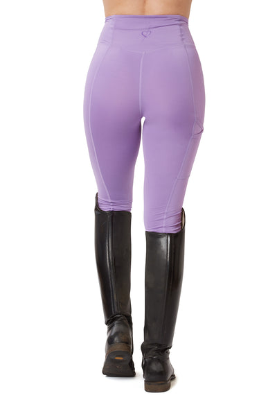 Flex Riding Leggings - Lavender