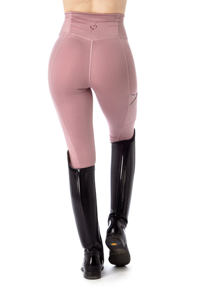 light pink equestrian leggings