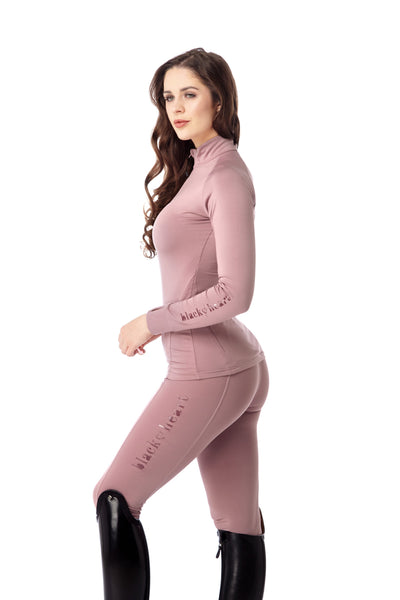 equestrian pink base layer