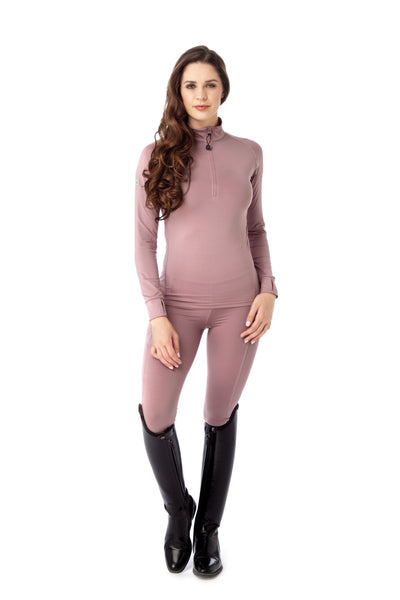 light pink base layer