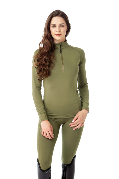 green base layer