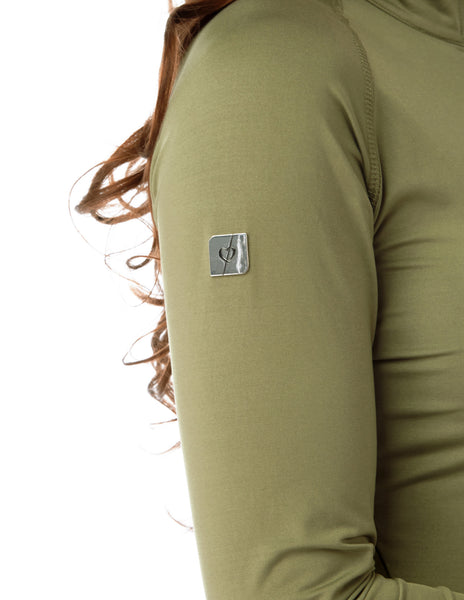 olive base layer