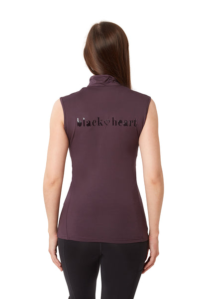 Sleeveless Base Layer - Plum