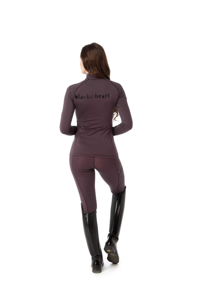 branded purple base layer