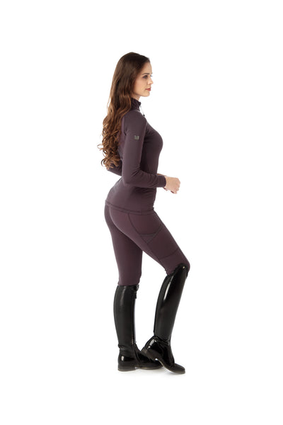 branded plum base layer